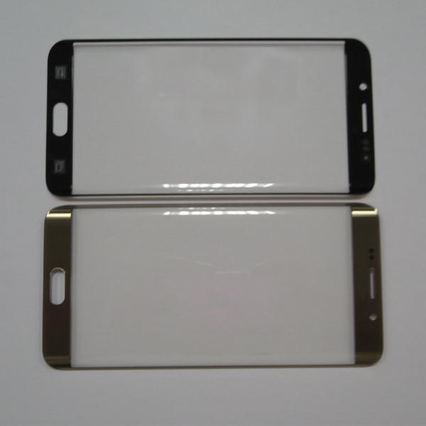 Front Glass Lens Panel For Samsung S6 edge plus Front Outer Screen Glass Lens Touch Screen Digitizer Glass