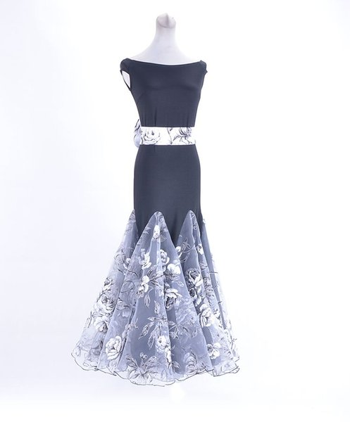 fashion Real Women Modal Latin Dress Stage Clothing For Dancing New Professional Ballroom Dance Competition Dresses