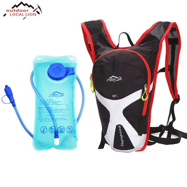 LOCAL LION Bike Bag 5L Mini Cycling Backpack Hold Water MTB Road Bags Water Storage Bicycle 1.5L Bag Riding Running Bags