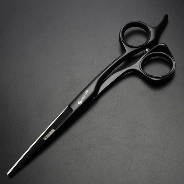 """6"""" black hair cutting scissors hairdresser kits clipper japanese hairdressing scissors hot hair shears for barber"""