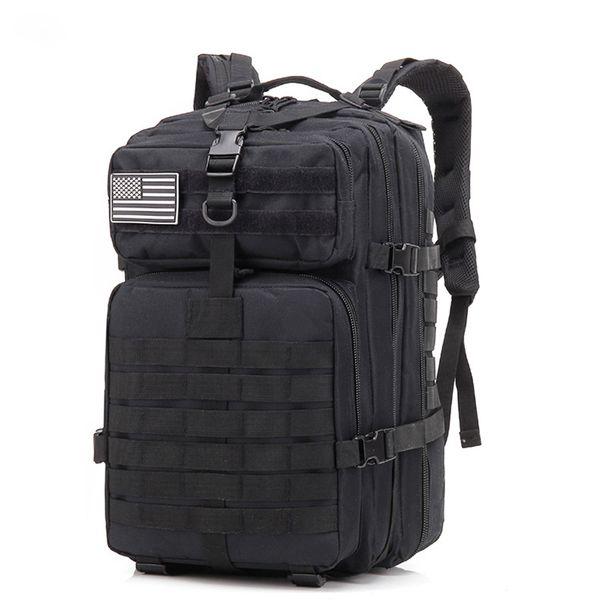 Camping Trekking Backpacks Bag Outdoor Black Mountaineering Hiking Bags Military Tactical Backpack Laptop Travel Molle Rucksacks