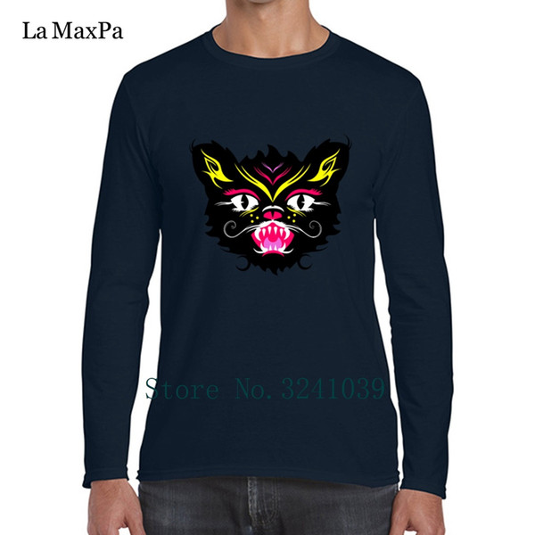 Character Gift Crazy Scaredy Cat Tee Shirt Better winter Style T-Shirt For Men Clothing Round Neck Men's Tshirt High Quality