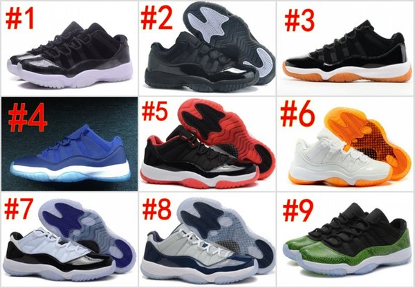 11s 72-10 Black Gum Shoes men women gym red Midnight Navy Metallic Gold Barons Infrared Citrus blue moon low bred concord Varsity Sneakers