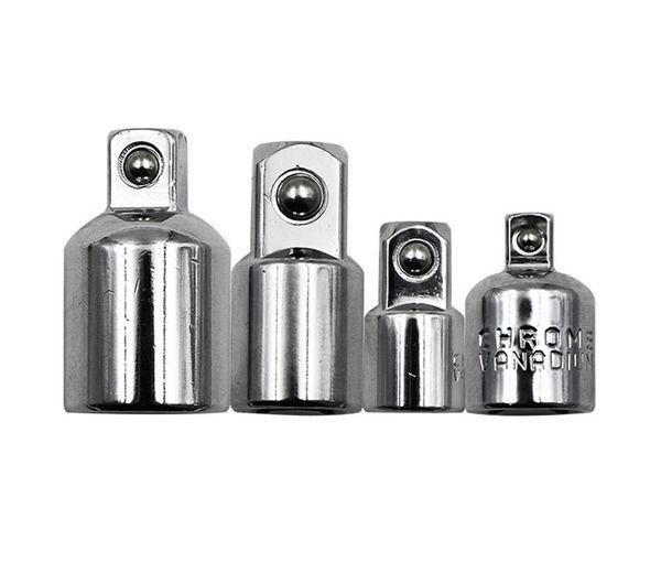 4 PCS/Lot Craftsman Air Impact Socket Wrench Adapter Ratchet Drive Socket Adapter Converter Reducer 1/4 3/8 1/2 Hand Tools Set