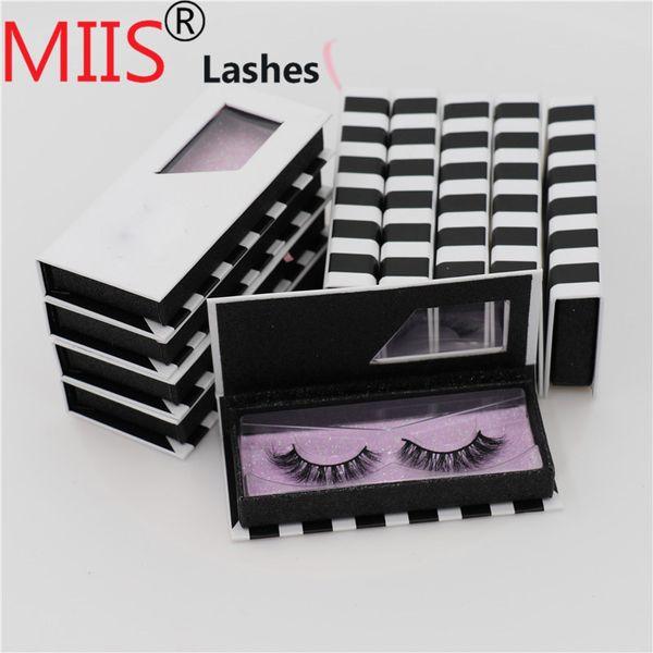 Private Label Eyelash Packaging 3D Mink Hair eyelfalse Lashes box handmade by good quality beautiful sable Eyelashes box