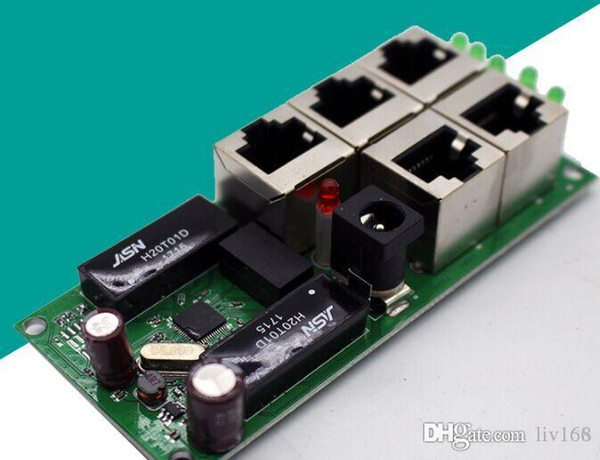 5 port OEM hohe qualität mini günstigen preis 5 port umschaltmodul hersteller platine 5 anschlüsse ethernet netzwerkschalter modul