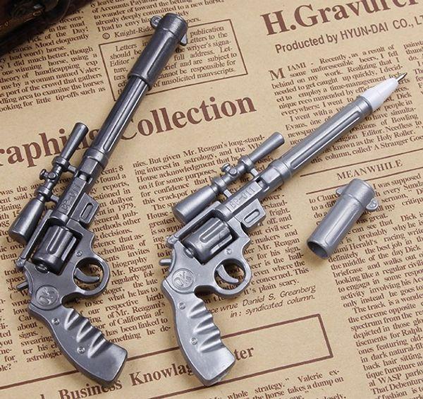 2 pcs/lot Novelty Toy Roscoe Fiveshooter Gun Ballpoint Pen Cute Funny Kawaii Pens Canetas Rollerball Pen School Supplies