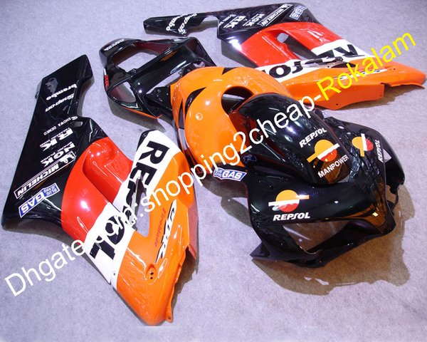 Hot Sales,Cheap 04 05 cbr 1000 rr For Honda CBR1000RR 2004 2005 red repsol Bikes Motorcycle Fairings Kit (Injection molding)