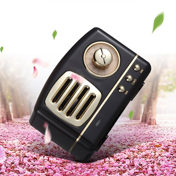 HM11 Retro Radio Bluetooth Speaker with TF card Hands free calling music player volume control Speaker For phones ,ipad, tablet pc