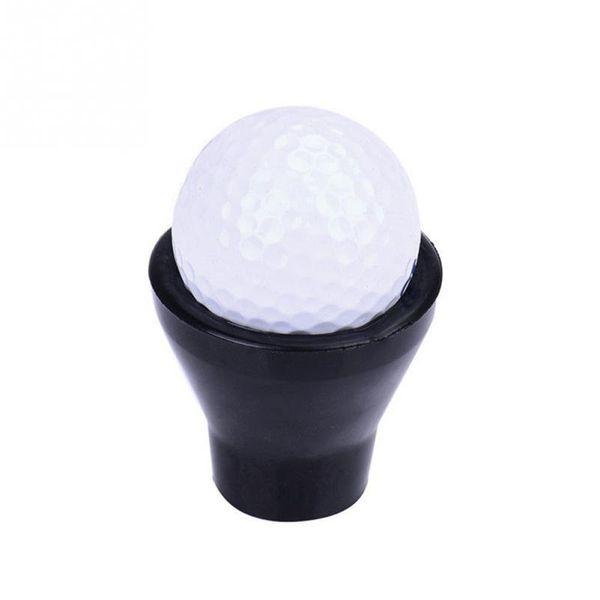Golf Tee Ball Pick Up Suction Cup Picker For Caddy Sucker Retriever Putter Grip