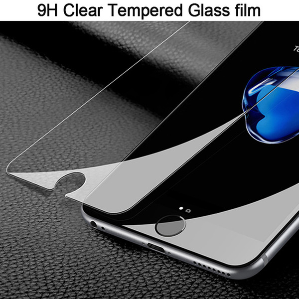 2pcse 9H Ultra-thin tempered glass for iPhone 9 8 7 6 6S Plus Screen Protector Protective GLASS film for iphone 9 plus X 5 5S SE Clear Glass