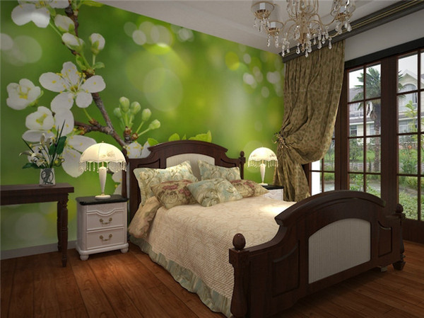 Modern Simple Flower Mural 40D Wallpaper Living Room Bedroom Dining Room Cozy Design Interior Decor Wall Paper Papel De Parede 40D Top Wallpapers Top Cool 3D Design Bedroom