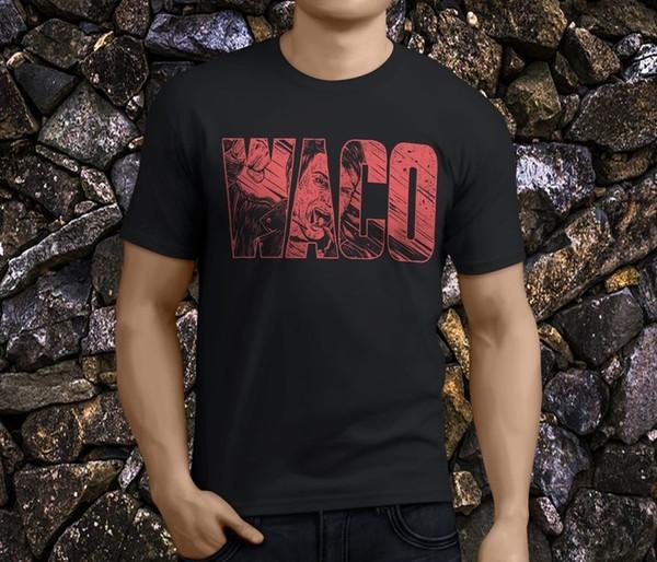 e630815aa ... Men's Tees & Polos ; Men's T-Shirts ;. Personality Men'S Waco Violent  Soho Men'S Black Zomer O-Neck Short-Sleeve ...