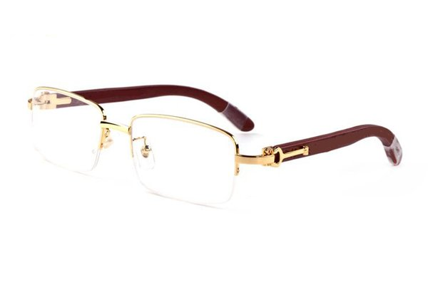 Best Selling buffalo horn sunglasses Square lens wooden sunglasses Frame High Quality Mens Women sun glasses with glasses box