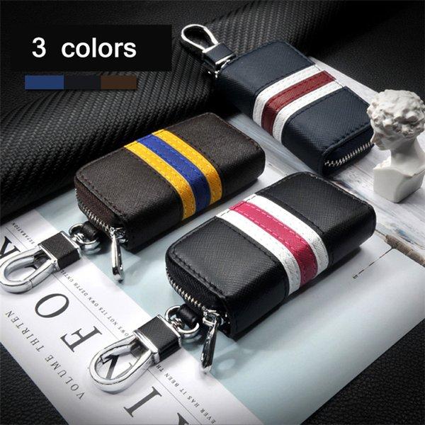 3 dell'automobile di colore di pelle a distanza flip cover chiave Key Fob Shell della copertura della cassa macchina adatta per Honda / Toyota / Volkswagen / Hyundai / Buick / Ford