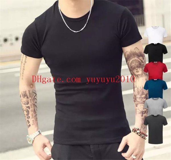 Art- und Weiseentwurf nagelneuer Normallack-T-Shirt Männer-Sex-Oberseiten-klassische T-Stücke 6 Farben 5 Größen-Hemd-beiläufige Art-Druckt-shirt