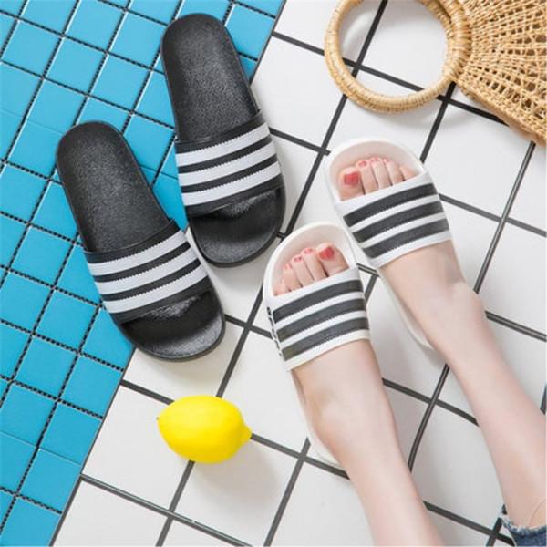 Лето любителей тапочки открытый крытый нескользящей мягкой подошвой душевая комната сандалии Мужчины Женщины Марка дизайнерской обуви 10fy Ww