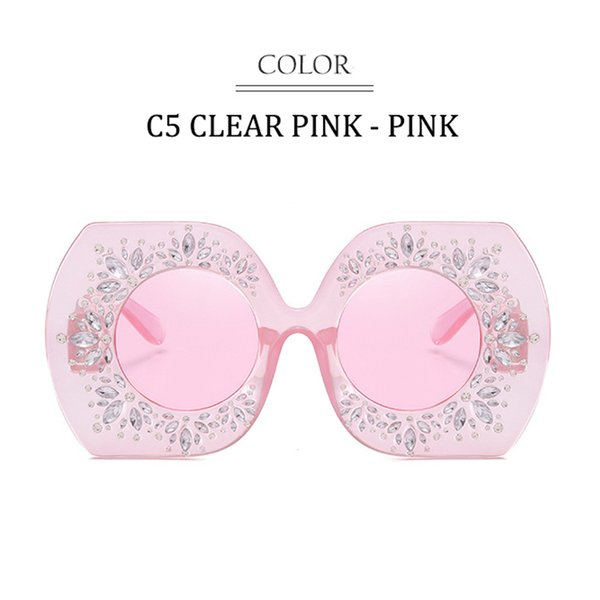 C5 Clear Pink Rahmen Pink Lens