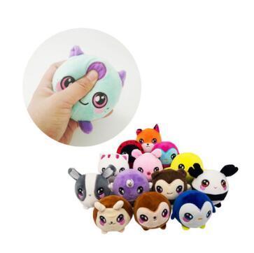 15 Styles 9cm Penguin Unicorn Squishy Slow Rising Foamed Stuffed Plush Doll Kids Squishamals Xmas Toys Novelty Items CCA10483 50pcs