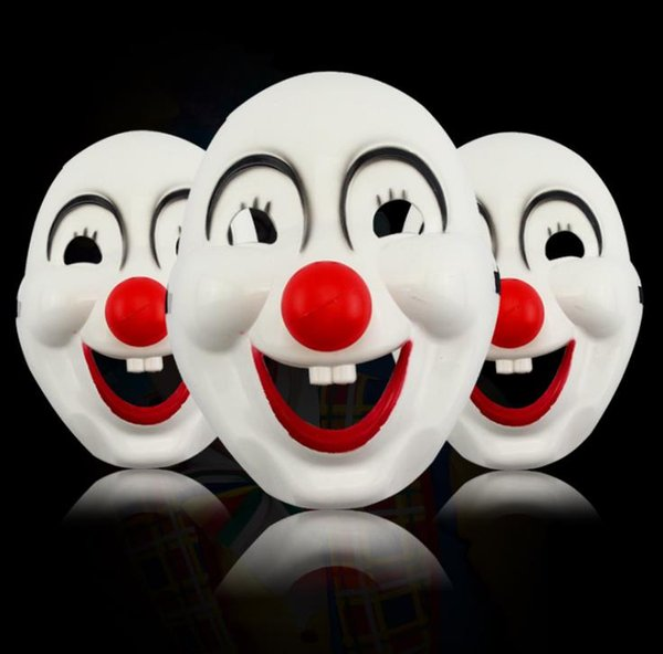 200pcs Children's Day Masquerade clown red nose movie clown mask plastic clown mask free shipping