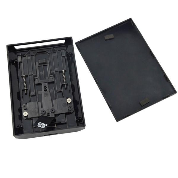 top popular Black Hard Disk Drive HDD Internal Case Enclosure Shell Box for XBOX 360 Slim High Quality FAST SHIP 2021
