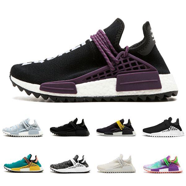 Cheap Human race sneaker equality cream white Core black nerd Holi BBC Canvas Colette men women sports shoes trainer running Shoes eur 36-45