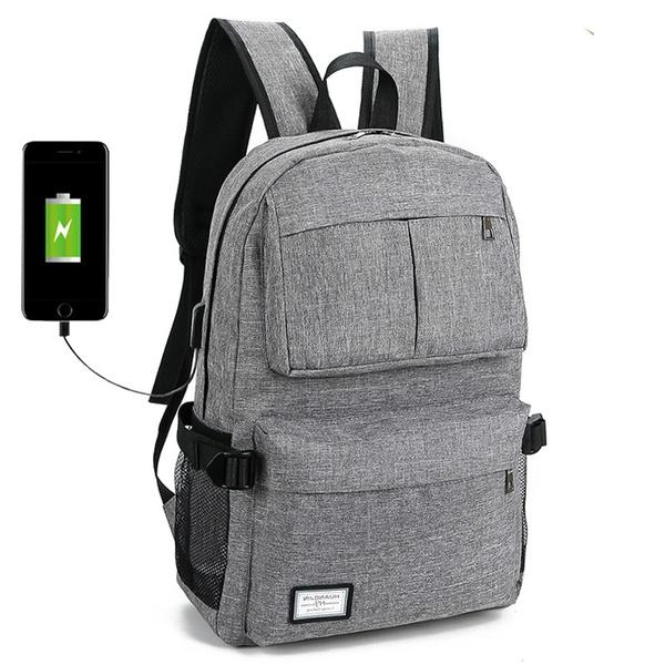 f802eb87cff6 New USB Unisex Design Backpack Book Bags For School Backpack Casual ...