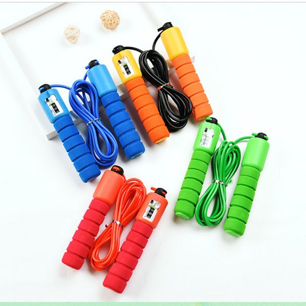 Pro Skipping Speed Rope Adjustable Fitness Workout Jumping Rope With Counter