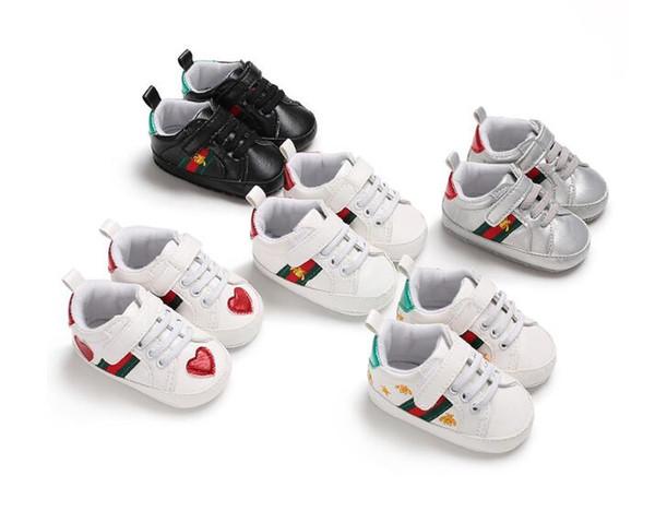 Новые детские мальчики девочки мягкая подошва детская кроватка обувь искусствен