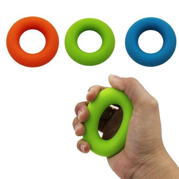 XC 3 Level Round Finger Resistance Bands Finger Stretcher Exerciser Griper Stretch Ball to Exercise Fitness Equipment
