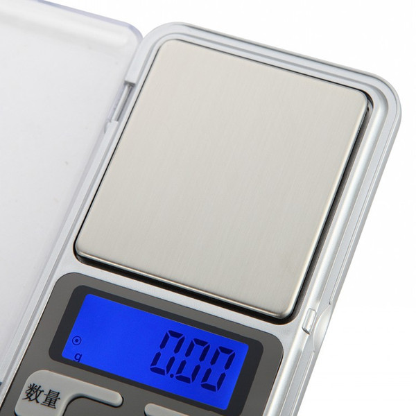 Precision portable jewelry scale electronic weighing 0.01g 0.1g said mini tea gift mobile phone scales