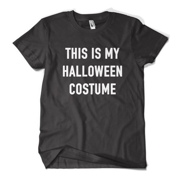 This Is My Halloween Costume T Shirt Fancy Dress Funny Mens Girls Tee Top New Cool Casual pride t shirt men Unisex New Fashion