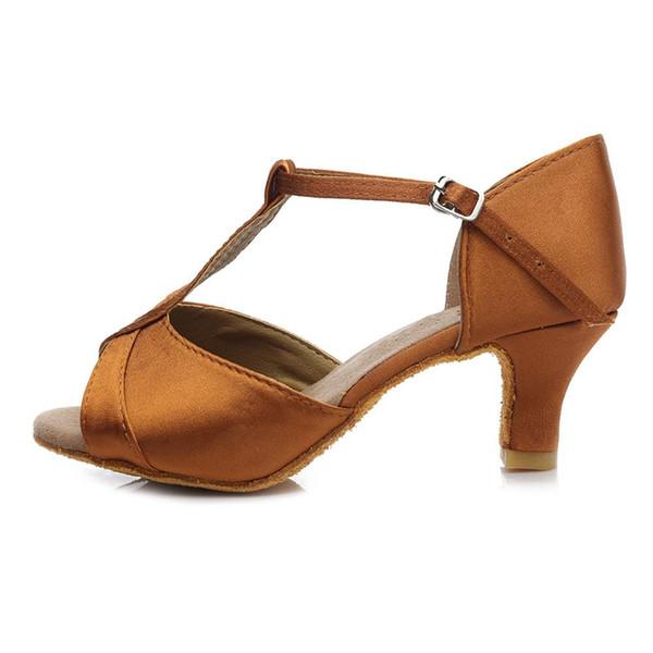 Brown 5cm Heel