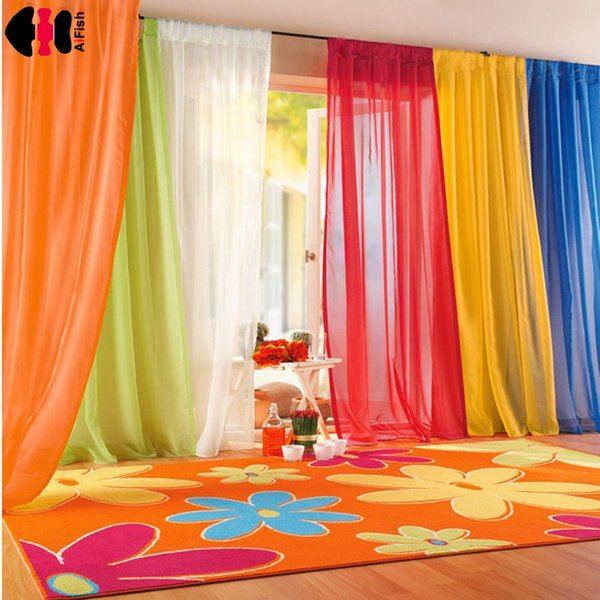 Curtains Black And White Drapes Sheer Yarn Tulle Orange Curtains Tulle For Ivory Curtain Green Curtains Wedding Ceiling WP184C