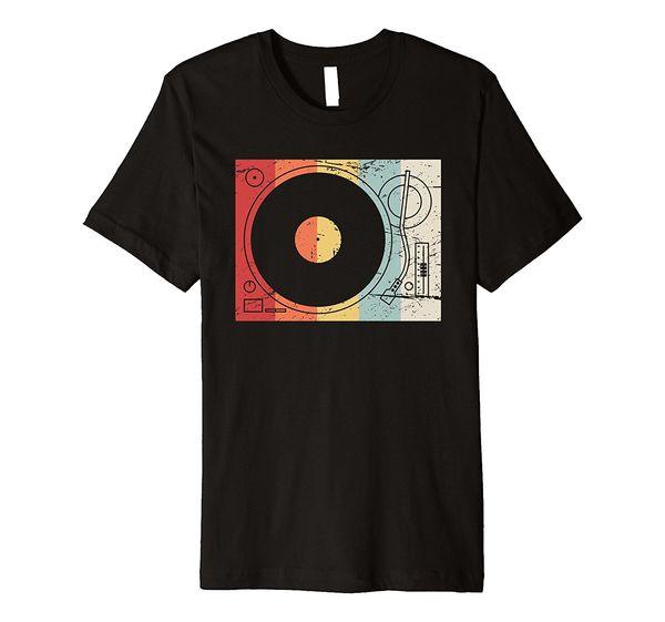 Wholesale Discount | Retro Record Player Turntable Vinyl Dj T Shirt