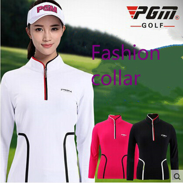 best selling 2018 New arrival Slim golf T-shirts women's long-sleeve shirt High quality women's clothes sportswear size S-XL