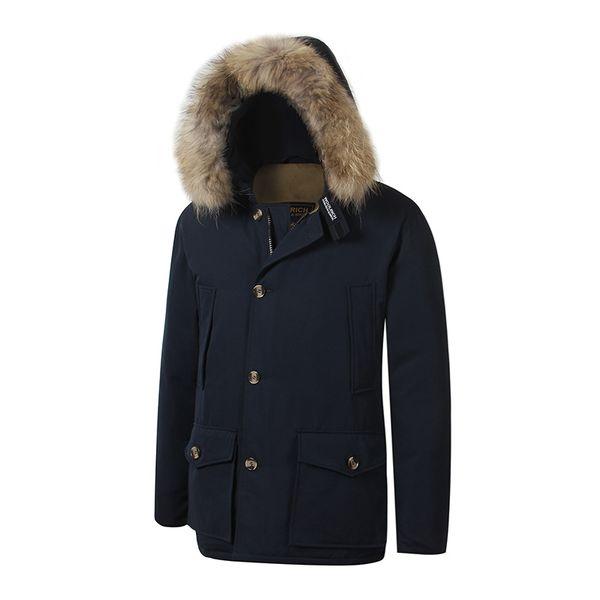 online store 650c9 13c24 Großhandel 2018 Brandneue Woolrich Abnehmbare Waschbärenfell Herren Arctic  Down Parka Warme Jacke Dicken Outdoor Wintermantel Von Lige0916, $121.83 ...