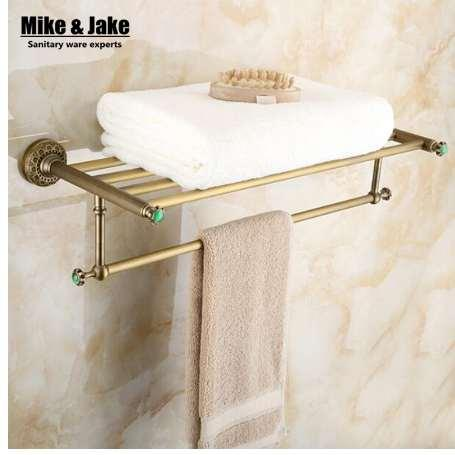 Großhandel Ganze Messing Antik Bad Handtuchhalter Badezimmer Handtuch Regal  Badezimmer Handtuchhalter Antik Doppel Regal 50 Von Gandolfi, $150.66 Auf  ...