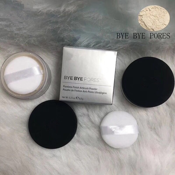 best selling 2018 BYE BYE PORES Poreless Finish Airbrush Powder .23Oz 6.8g Translucent Loose Setting Powder makeup cosmetic face powder DHL shipping