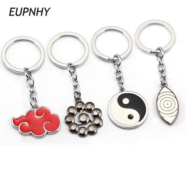 EUPNHY 1Pcs Japanese Anime Naruto Pendant Keychain Fashion Metal Keychain Keyrings Bag Hanging Ornament Jewelry Gifts for Friend