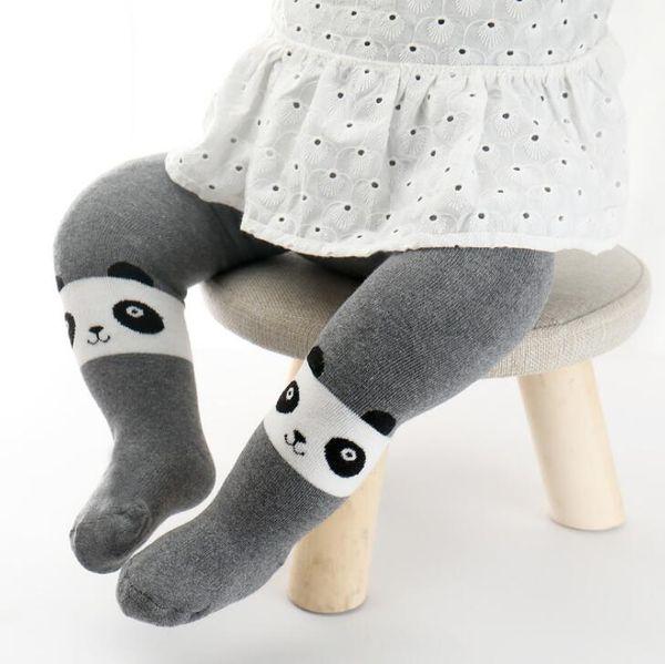 New Autumn Winter Baby Girl Leggings Knitted Cartoon Capri Pants Girls Cotton Leggings Kids Cartoon Pantyhose Children Leggings 14257