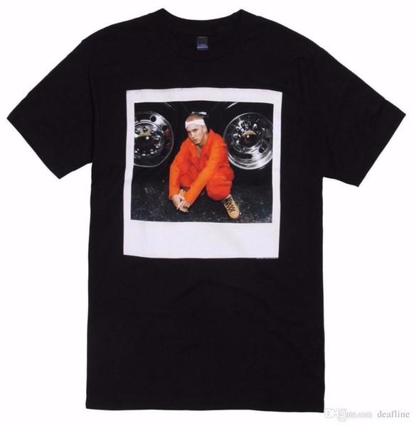 Tee Shirt Hipster Brand Clothing T Shirt Eminem The Slim Shady JUMPSUIT PHOTO T-Shirt NEW 100% Authentic
