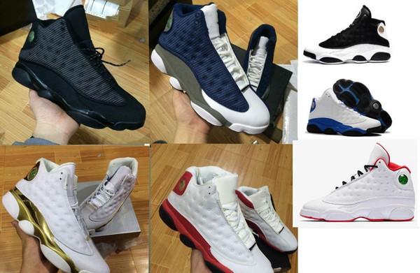 bambini Scarpe ragazzo grande 13 13s scarpe da basket uomo Phantom Hyper Royal Italia Blu Bordeaux Flints Chicago allevato DMP grano avorio avorio gatto nero
