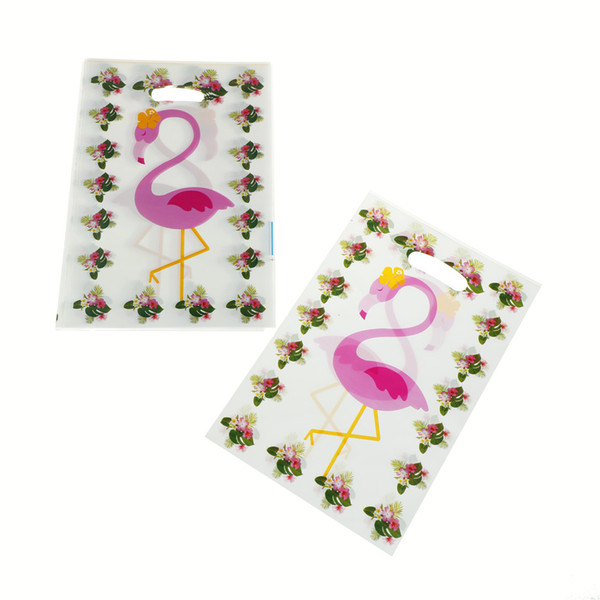 10pcs/lot Creative Flamingo Candy Gift Bags Wedding Party Birthday Baby Shower Decoration Event Party Supplies
