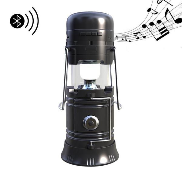 Waterproof Bluetooth Speaker Power Bank USB TF Card FM Radio Bluetooth Speakers Multifunction Outdoor Speaker Torch Camping Lantern Light
