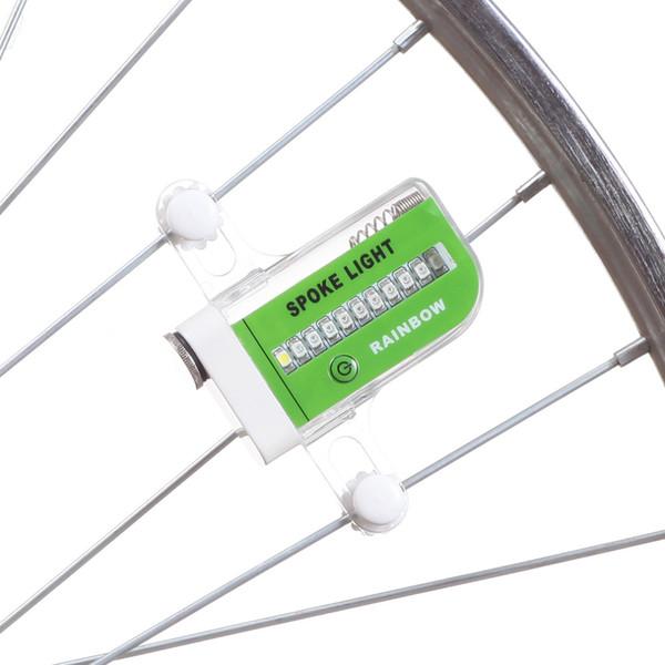 22 LED 15 Muster Wasserdichte Super Helle Blinkende Fahrradräder Sprach Licht Lampe Mountainbike Zubehör Heißer Verkauf