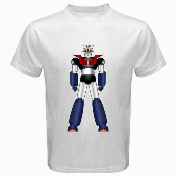 Mazinger Z M7 anime shin classic manga robot movie T-Shirt white mecha