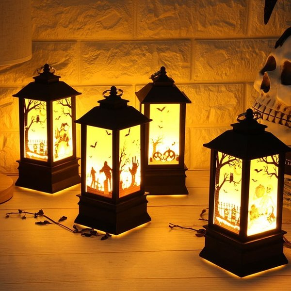 20pcs Halloween Ghost Flashing Solar LED Light Twinkling Light for Bedroom Indoor Outdoor Warm White Party Favors Toys & Games