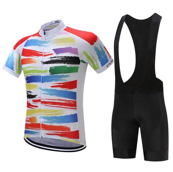 Pro equipo de alta calidad de la marca Ciclismo Bibs shorts ciclismo jersey  conjunto ropa de bc807850748c8