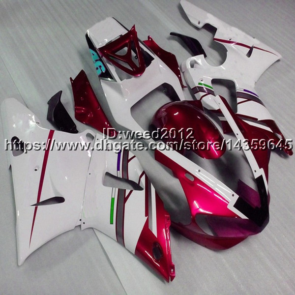 23colors+5Gifts Motorcycle panels motorcycle Full fairing kits for Yamaha YZFR1 1998 1999 YZF R1 1998 1999 ABS Plastic Bodywork Set